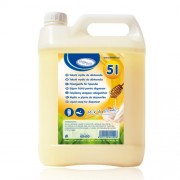 Tekuté mydlo do dávkovača Mlieko Med 5 litrov [1 ks]