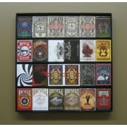 The Playing Card Frame 24 Deck Acrylic Playing Card Display By Collectable Playing Cards
