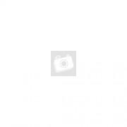 Női fekete bőrhatású patentos pénztárca