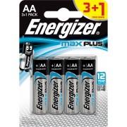 Baterije Energizer Max Plus alkalne LR6 (AA) FSB4 3+1