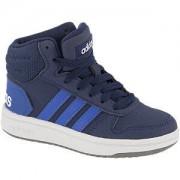 Adidas Blauwe Hoops mid 2.0