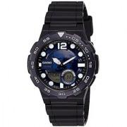 Casio Youth - Combination Analog-Digital Blue Dial Mens Watch - Aeq-100W-2Avdf(Ad205)