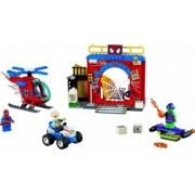 Set Constructie Lego Juniors Ascunzisul Lui Spiderman