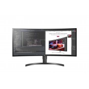 "LG Monitor LG LED IPS 34"" Ultra Wide 3.440 x 1.440, 5ms, colunas, 2xHDMI, Display Port, preto/cinza"