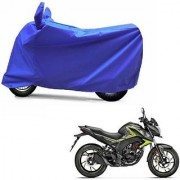 Intenzo Premium Full Blue Two Wheeler Cover for Honda CB Hornet 160