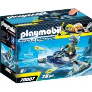 Playmobil Kémek - S.H.A.R.K. csapat rakéta vetős jetskije (70007)