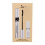 Christian Dior Diorshow Iconic Overcurl tonalità 090 Black confezione regalo mascara Diorshow Iconic Overcur 6 g + base mascara Diorshow Maximizer 3D 4 ml donna