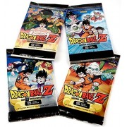 Dragon Ball Z Collectible 2015 Trading Card Game Movie Collection Booster Pack by Panini - 4 Pack Set - 5 Cards Each Pack 20 Cards Total