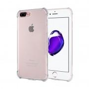 Husa Iphone 7 Plus Silicon colturi antisoc - Transparent