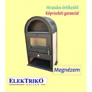 Eurotherm 6kW-os íves kandalló