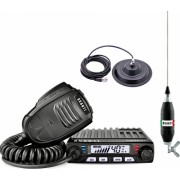 Kit Statie Radio CB Avanti Supremo Power-version + Antena CB Avanti Volo 130 cu Baza Magnetica Megawat