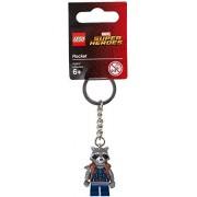 Lego Marvel Super Heroes Rocket Key Chain / Keyring - 853708