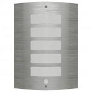 vidaXL Zidna lampa *od nehrđajućeg čelika *sa senzorom pokreta