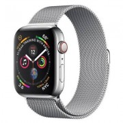 Apple SmartWatch APPLE Watch Series 4 GPS+Cellular Koperta 40 mm ze stali nierdzewnej z bransoletą mediolańską MTVK2WB/A
