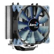 Охлаждане за процесор AeroCool Verkho 4 Dark, съвместимост със Intel 2066, 2011-3, 2011-0, 775, 1150, 1151, 1152, 1155, 1156 & AMD AM4, AM3+, AM3, AM2+, AM2, FM2+, FM2, FM1