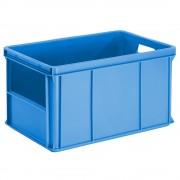 Stapel- und Transportbehälter Wände, Boden geschlossen, Stirnseitenöffnung Inhalt 60 l, VE 4 Stk