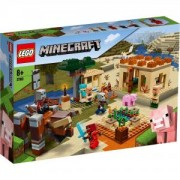 Конструктор Лего Майнкрафт - Нападение на заболителите, LEGO Minecraft, 21160
