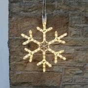 Kültéri hópehely sziluett világítás 45 cm – Hideg fehér