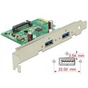 DeLock PCI Express Card > 2x USB 3.0 89391
