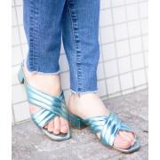 【FABIO RUSCONI】Metalic Sandals