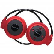 Audífonos Bluetooth Inalámbricos Deportivos, Nuevo Universal Mini 503 Audifonos Bluetooth Manos Libres Auriculares Con Micro Tarjeta De Ranura Para Sony Iphone Samsung (rojo)
