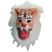 Fancy Dress Lion Tiger Mask Latex Animal Face Mask Costume Party Fancy Mask Cosplay Mask (Assorted)