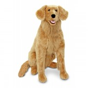 Golden Retriever gigant din plus Melissa and Doug