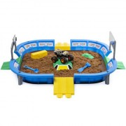 Set de joaca Nisip Kinetic Monster Dirt Arena Set Monster Jam
