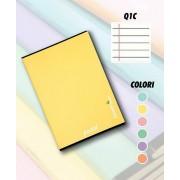 Mans Quaderno maxi A4 . 1 rigo con margine