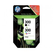 HP 300 Combopack (svart+färg)