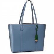 Дамска чанта TORY BURCH - Perry Triple-Compartment Tote 53245 Bluewood 457