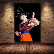 NC56 Puzzle 1000 Piezas Anime japonés Goku Pintura Estilo nórdico Imagen Arte Pintura ModernaPuzzle 1000 Piezas Adultos Grandes Vacaciones Ocio Juegos interactivos Familiares 50x75cm (20x30inch)
