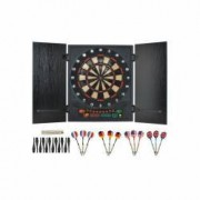 Set Joc Darts cu Tinta Electronica 12 Sageti 27 Jocuri 175 Moduri Afisaj LCD