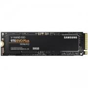 Твърд диск SSD Samsung 970 EVO PLUS, 500 GB, 3D V-NAND Flash, NVMe M.2, MZ-V7S500BW