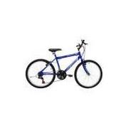 Bicicleta Masculina Aro 24 21 Marchas Flash - 310906 - Azul