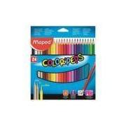 Lapis de cor triangular maped color pets - 24 cores