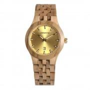 Bedate Women's Classic Bamboo Maple Wood Watch