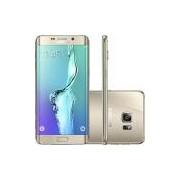 Samsung Galaxy S6 Edge Plus Dourado 32GB 4G Android Tela 5.7 Processador Octa Core Câmera 16MP