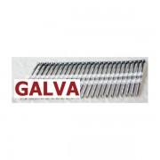 Pointes 20° GALVA TORSADEES 3.1x80 boite de 2000