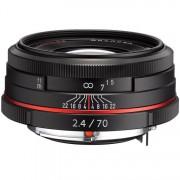 Pentax 70mm F/2.4 HD DA Limited - NERO - 2 Anni Di Garanzia