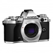 Olympus OM-D E-M5 Mark II Body Aparat Foto Mirrorless 16MP MFT Full HD Argintiu