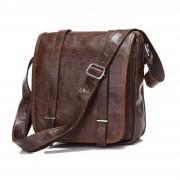Delton Bags Sac en cuir marron Togo