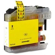 Totaalinkt Geschikt Brother MFC-J5330 inkt cartridge Geel van Totaalinkt