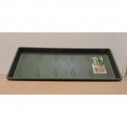 Elho green basic trough saucer 50 leaf green