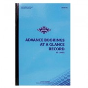 ZIONS ADVANCED BOOKINGS AT A GLANCE BOOK 35 LINES