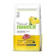 Trainer Natural Small & Toy Adult Manzo Riso Yucca Alga Spirulina 2 Kg