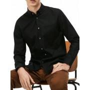 Lacoste Herrenhemd, schwarz