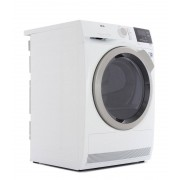 AEG T8DBG842R Condenser Dryer with Heat Pump Technology - White