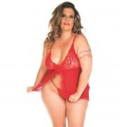 Camisola Carol Plus Size Pimenta Sexy - ShopSensual
