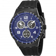 Reloj Swatch SUSB402-Negro Con Azul